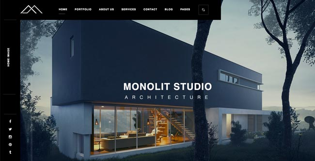 monolit-responsive-architecture-wordpress-theme