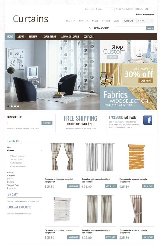 Curtains-Store-Magento-Theme