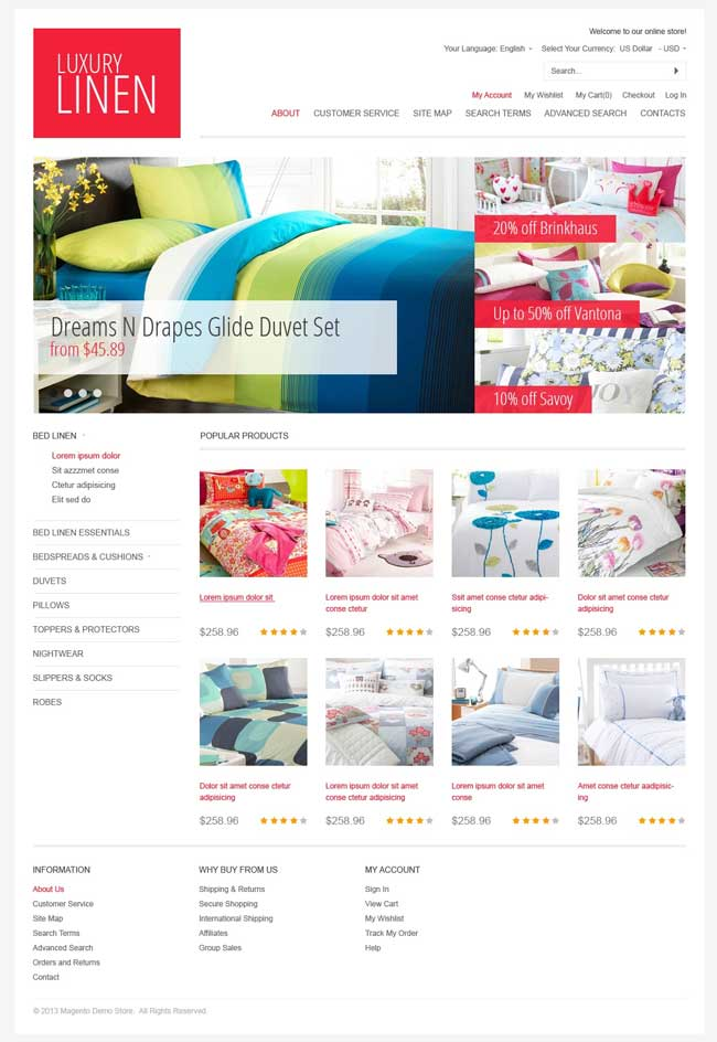 Exquisite-Linen-Magento-Theme