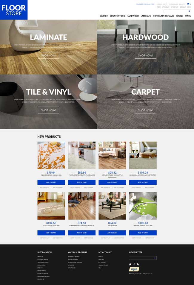 Floor-Materials-Magento-Theme