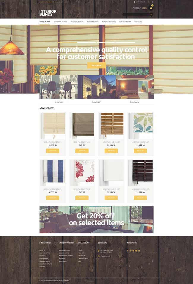 Interior-Blinds-Magento-Theme