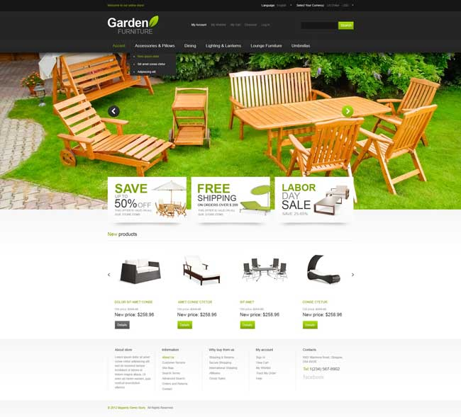Stylish-Garden-Magento-Theme