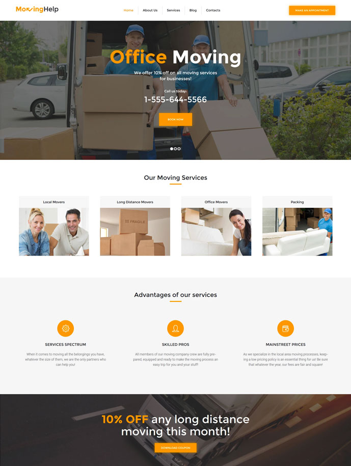 15+ Best Transportation and Logistics WordPress Themes for for ...
