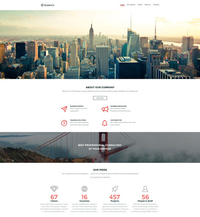 Buzarco-Multipurpose-Business-HTML-Website-Template