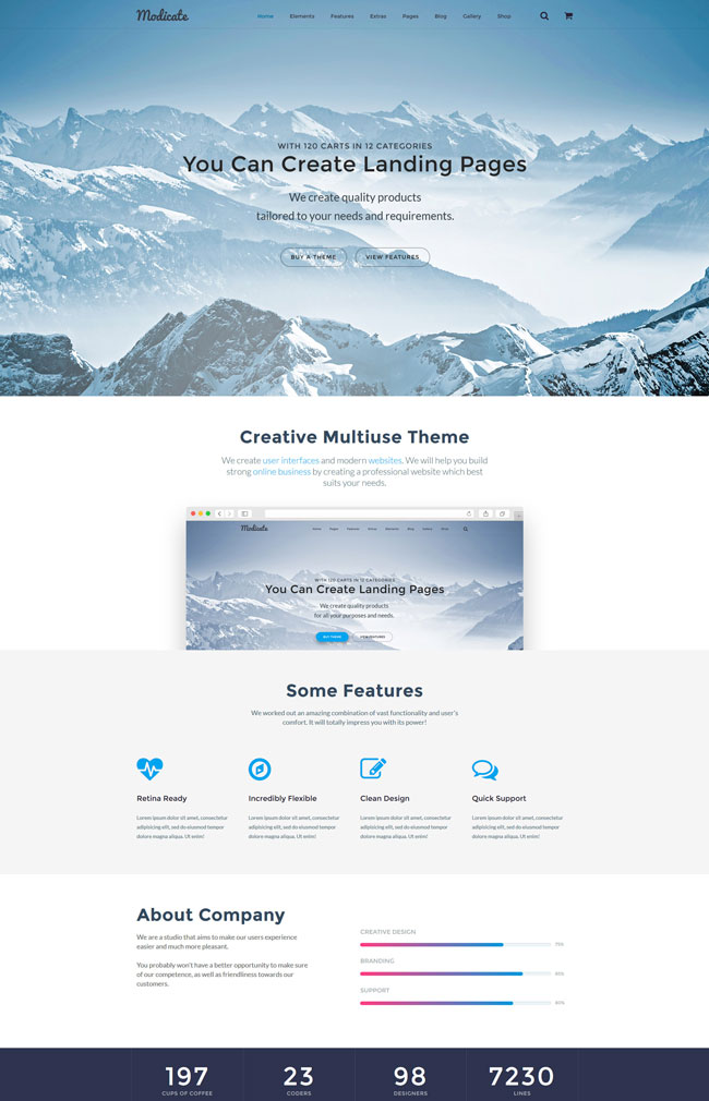 Modicate-Multipurpose-HTML5-Website-Template