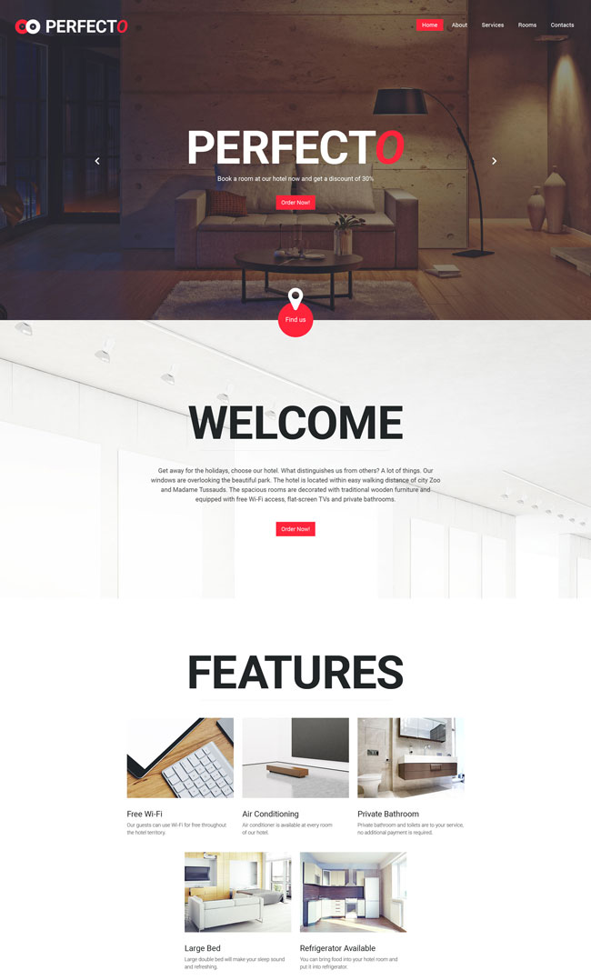 Perfecto-HTML5-Website-Template