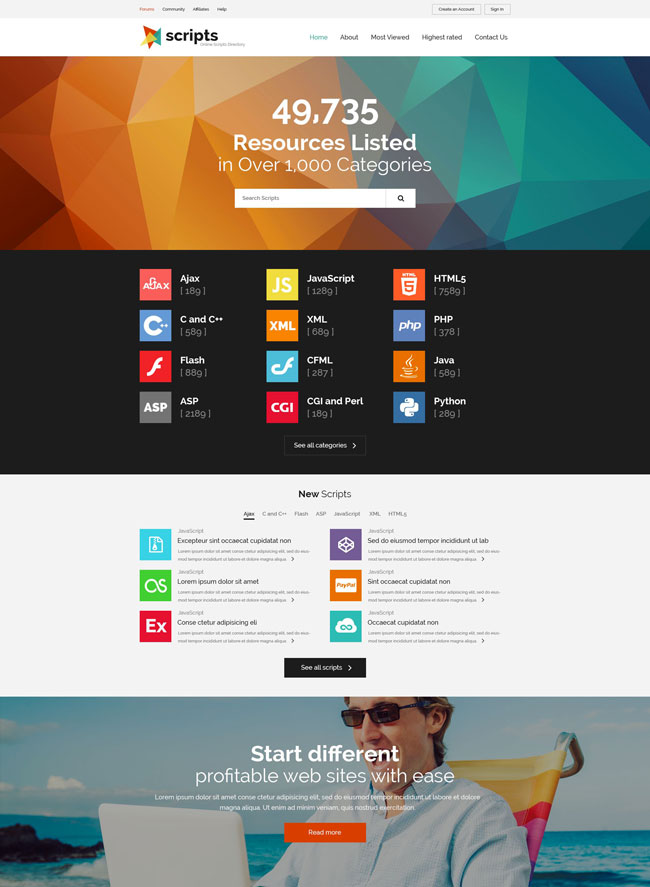 Scripts-Multipurpose-Website-Template
