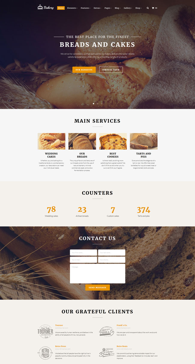 bakery-multipurpose-website-template