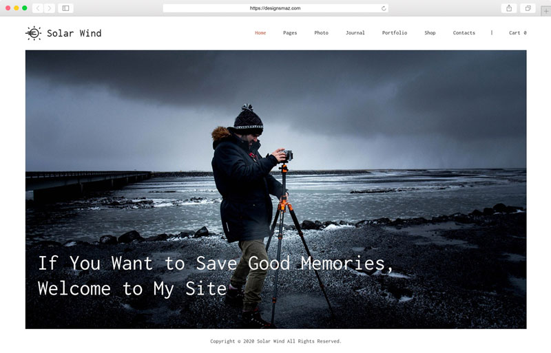 solarwind-photography-wordpress-theme