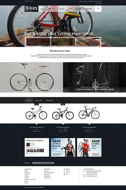 Bikes-Online-PrestaShop-Theme