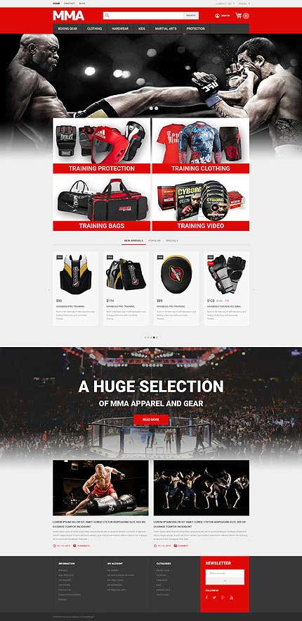 Boxing-Gear-PrestaShop-Theme