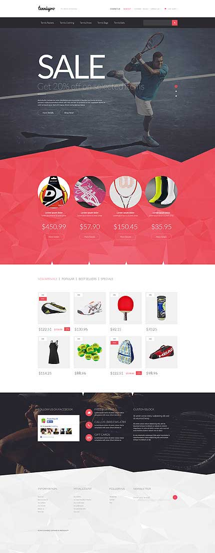 Professional-Tennis-PrestaShop-Theme