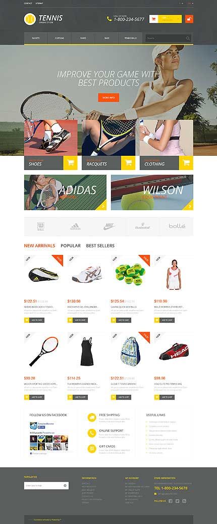 Tennis-Outfit-PrestaShop-Theme