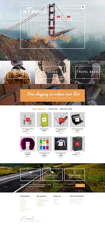 Travel-Goods-PrestaShop-Theme