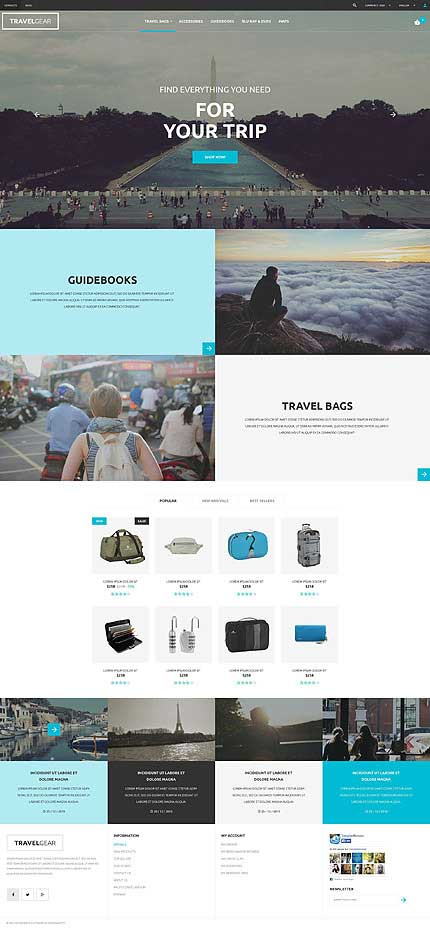 Traveler-PrestaShop-Theme