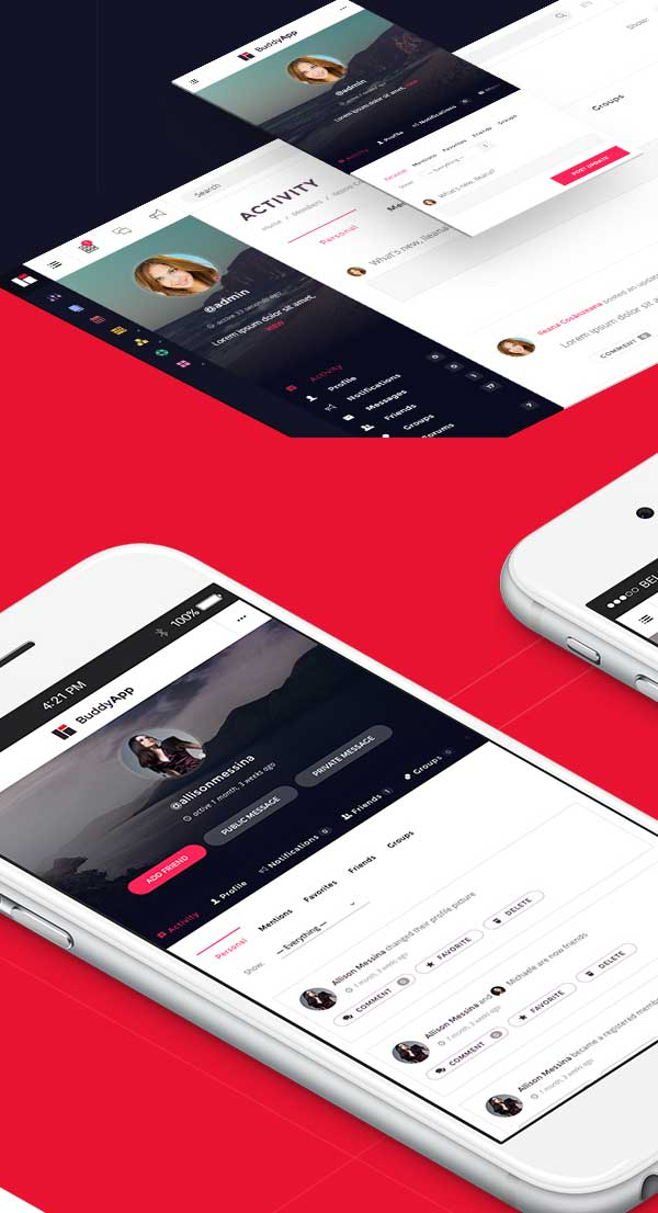 buddyapp-mobile-first-community-wordpress-theme