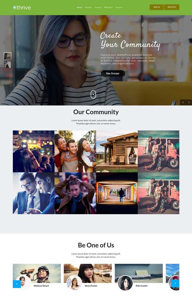 thrive-intranet-community-wordpress-theme