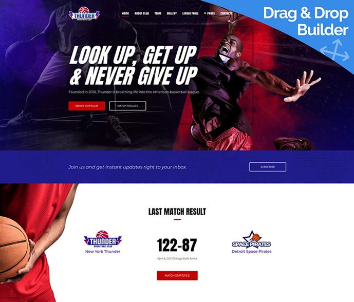 15 Best Responsive Sports Website Templates 2018 Designmaz
