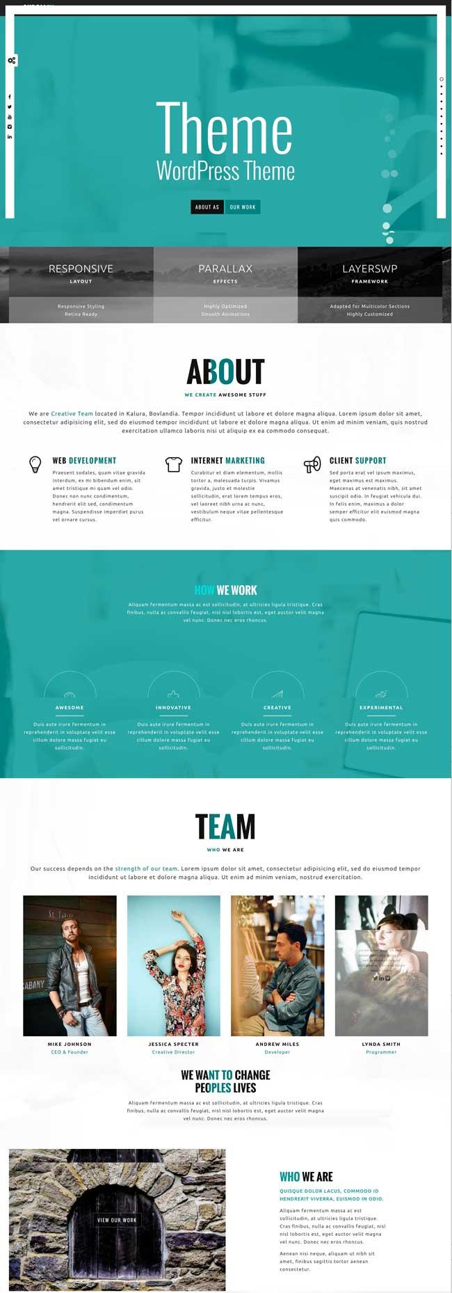 skrollex-creative-one-page-parallax
