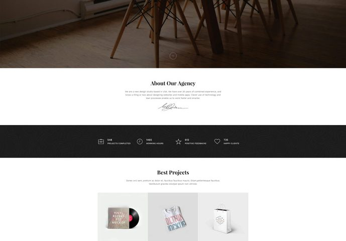 Snow Free HTML Website Landing Page Template Free Download - Html web page template
