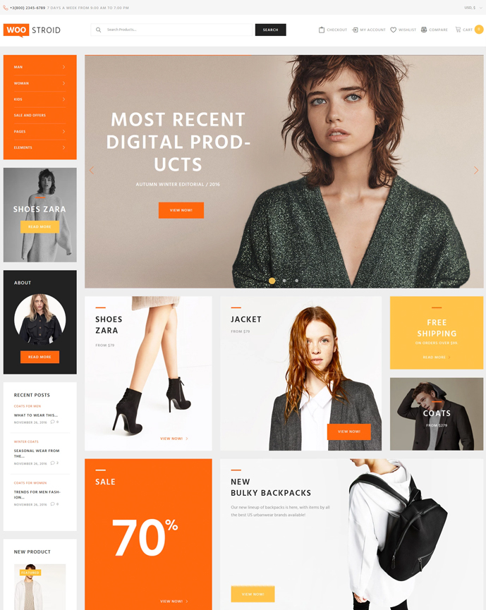 20+ Best WooCommerce WordPress Themes for a Perfect Online Store ...