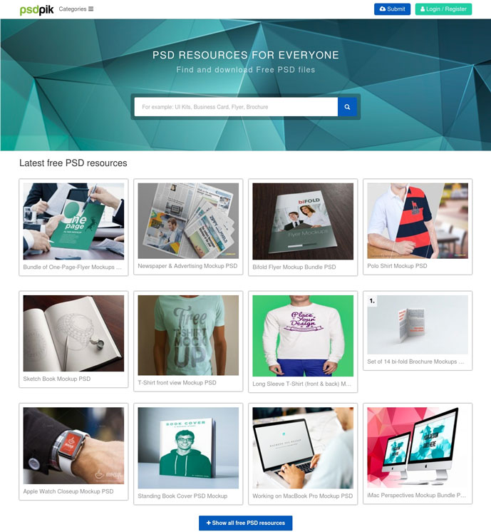 Top 15 Websites To Download Free Psd Files 2017 Designmaz