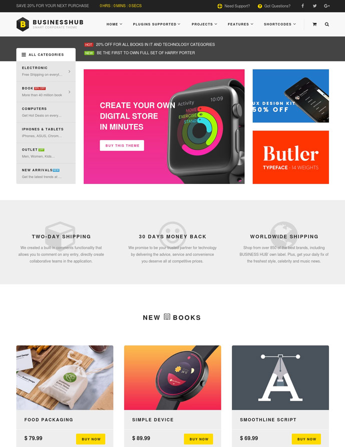 15+ Best WordPress Themes for Selling Digital Products 2017 - DesignMaz
