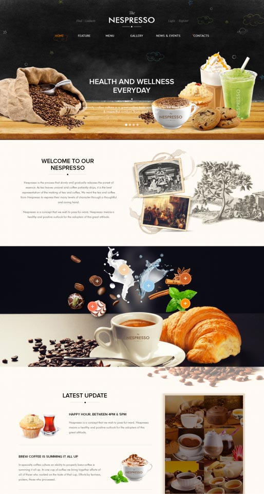 Coffee-Wordpress-Theme