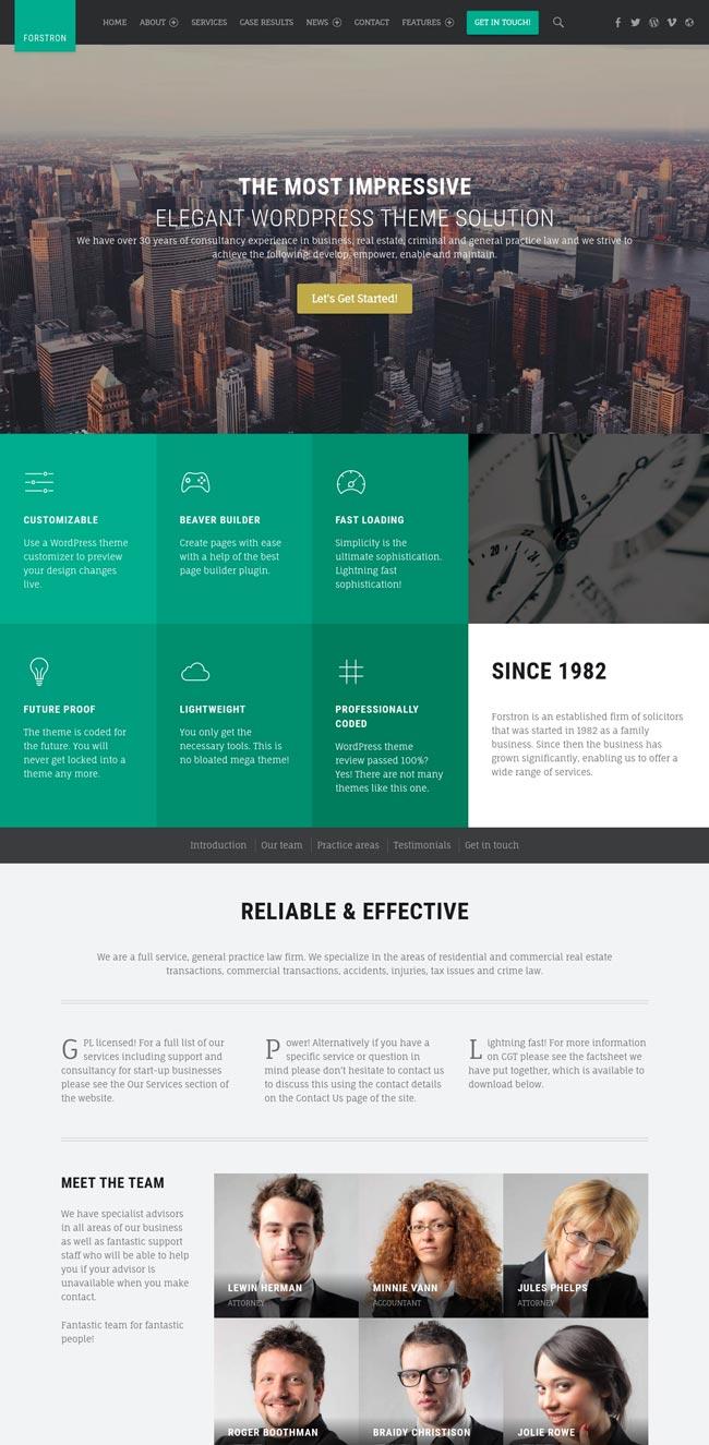 forstron-legal-business-wordpress-theme