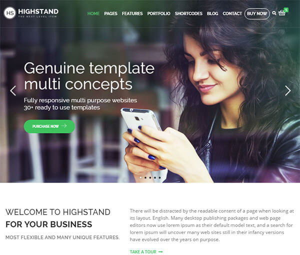 highstand-responsive-multipurpose-wordpress-theme
