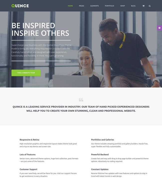 quince-modern-business-theme